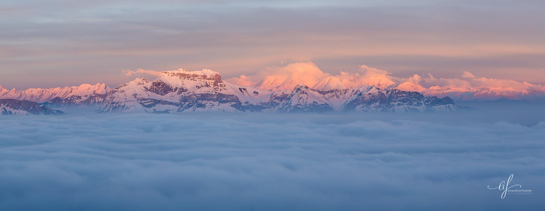 Tournette et Mont-Blanc